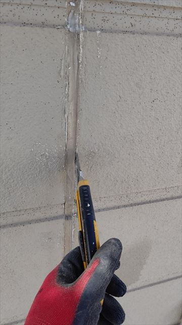 中津川市中津川で屋根外壁塗装目地打ち替え