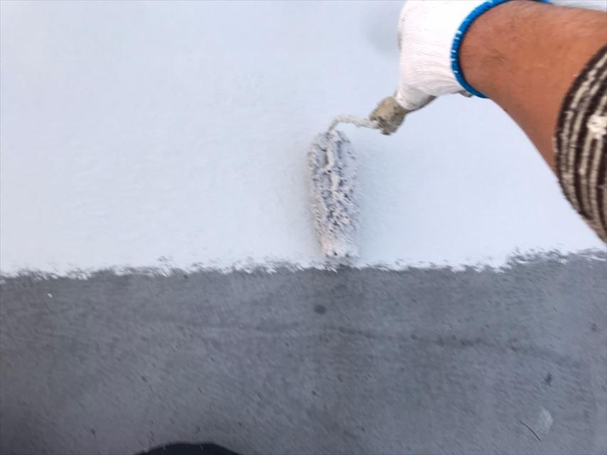 多治見市北丘町屋上屋根防水材