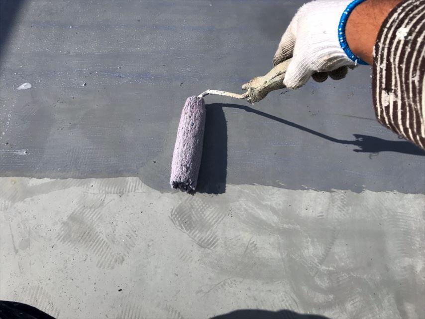 多治見市北丘町屋上屋根防水工事