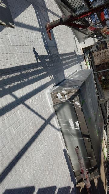 多治見市小名田町で外壁塗装下塗り塗装