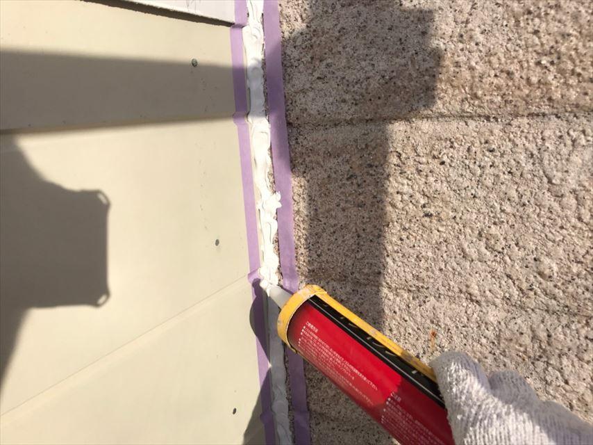 多治見市市之倉町外壁塗り替え前メンテナンス