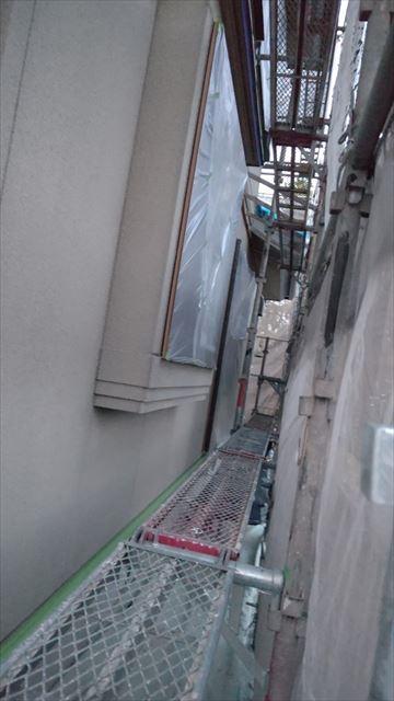 瑞浪市陶町で外壁塗装養生完成