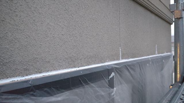 瑞浪市陶町で外壁塗装窓廻りコーキング