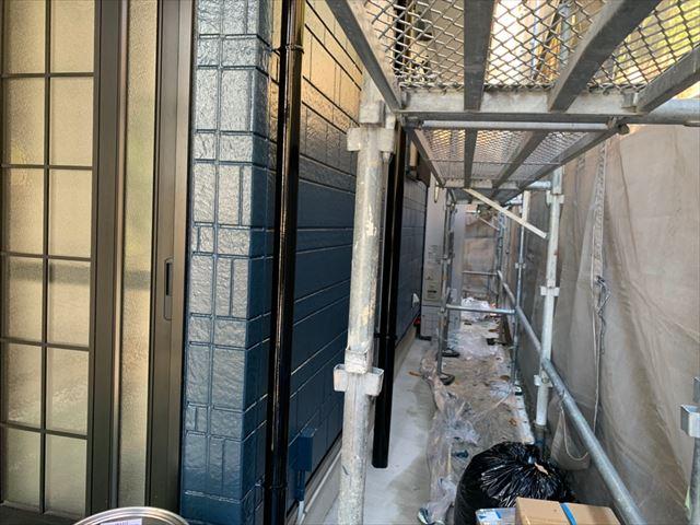 外壁塗装、完了です
