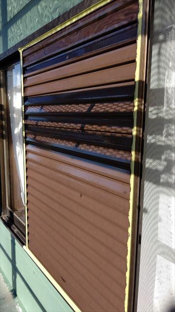 中津川市中津川で屋根外壁雨戸塗装