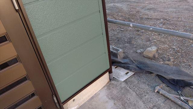 中津川市中津川で屋根外壁塗装水切り塗装