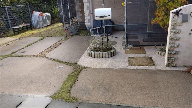 多治見市小名田町で外壁バイオ洗浄