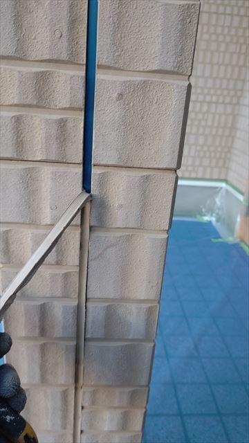 多治見市小名田町で屋根外壁塗装目地撤去
