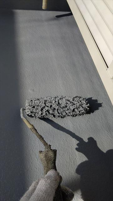 多治見市滝呂町で屋根外壁塗装ベランダ防水工事