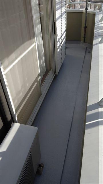 多治見市滝呂町で屋根外壁塗装ベランダ防水工事完成
