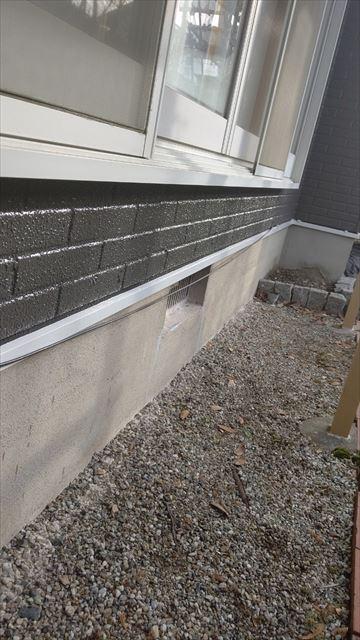 多治見市滝呂町で屋根外壁塗装水切り塗装