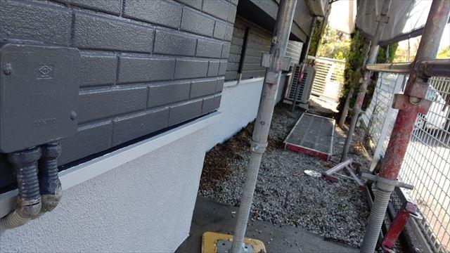 多治見市滝呂町で屋根外壁塗装基礎塗装