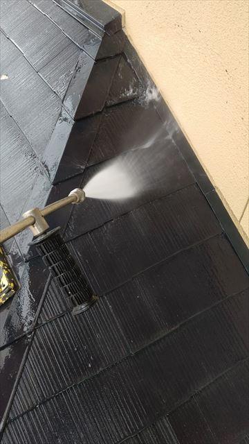 多治見市滝呂町で外壁塗装バイオ洗浄