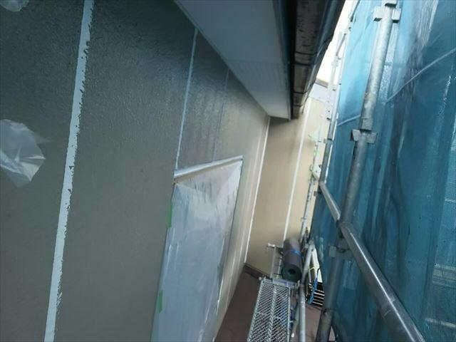 恵那市で外壁コーキング
