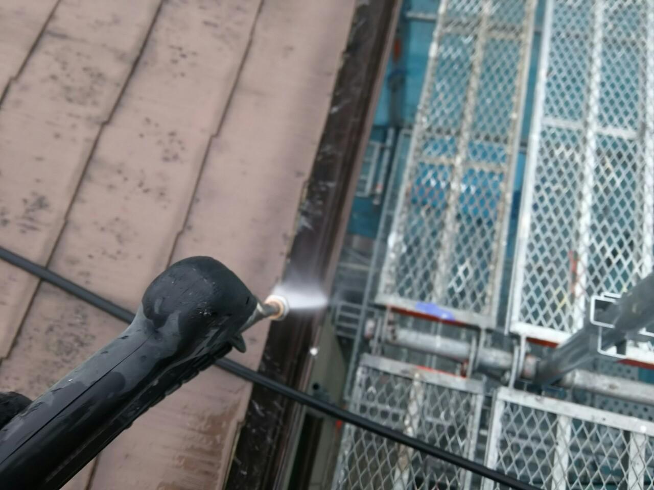 恵那市で屋根外壁塗装バイオ洗浄