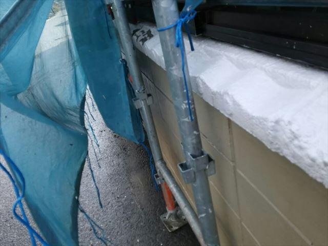 恵那市で屋根外壁塗装、塀高圧洗浄