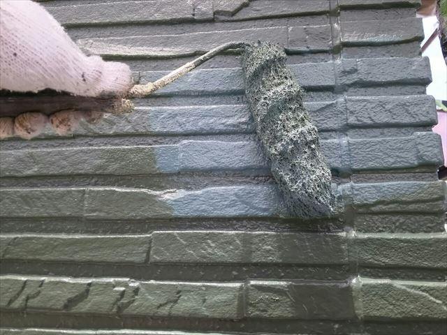 瑞浪市外壁上塗り防カビ材