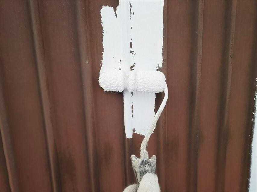 多治見市大畑町外壁下塗り