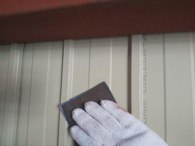 恵那市 恵那営業所 外壁塗装 内装塗り替え ケレン