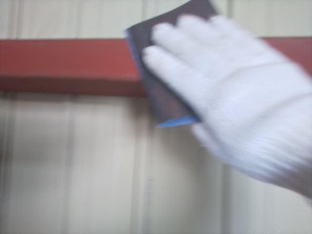 恵那市 恵那営業所 外壁塗装 内装塗り替え 鉄骨部分ケレン