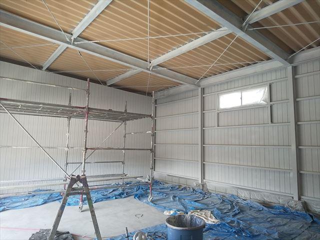 恵那市 恵那営業所 外壁塗装 内装塗り替え 天井の塗り替え