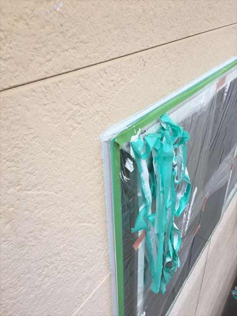 多治見市小名田町 外壁塗装 窓廻りコーキング
