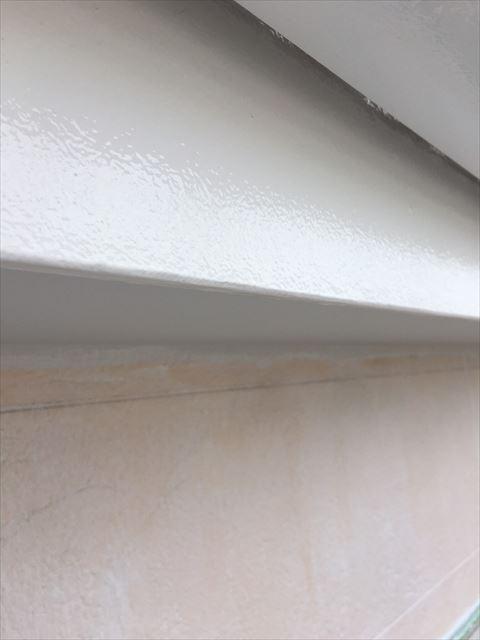 多治見市小名田町で外壁塗装 破風塗装2回目