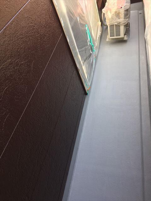 多治見市小名田町で外壁塗装 防水工事
