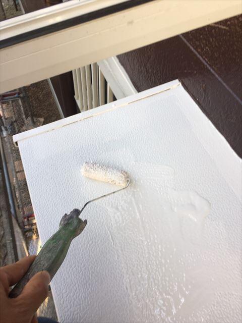 多治見市小名田町で外壁塗装 付帯部塗装
