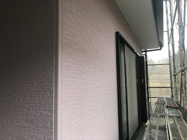 外壁塗装、完了しました