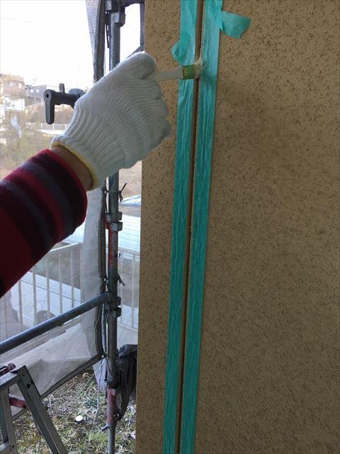 多治見市滝呂町で屋根外壁塗装工事目地打ち替え