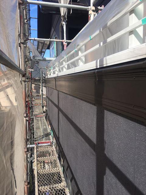 多治見市滝呂町で屋根外壁塗装工事破風塗装