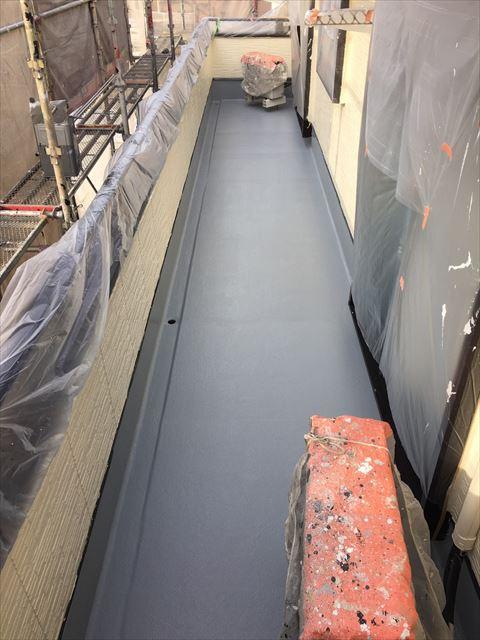 土岐市駄知町屋根外壁塗装ベランダ防水工事