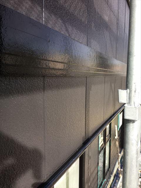 土岐市駄知町で破風板塗り替え工事