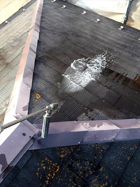 瑞浪市で屋根塗装バイオ洗浄
