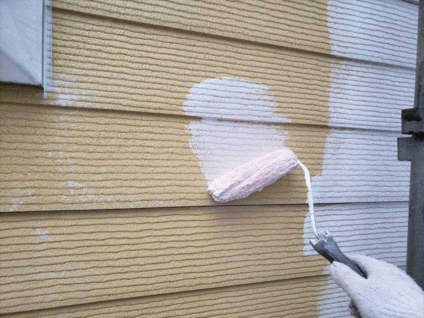 多治見市昭栄町外壁下塗り