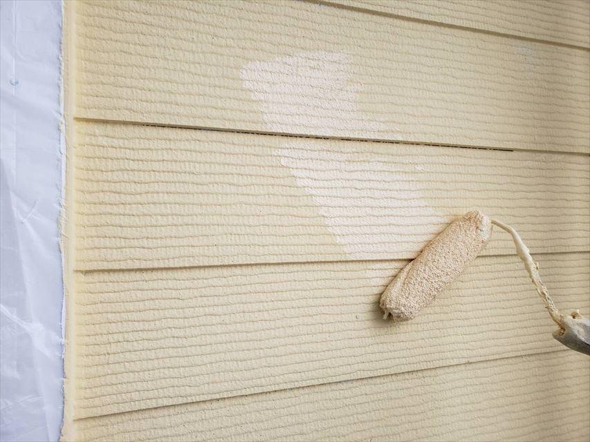 多治見市昭栄町外壁上塗り