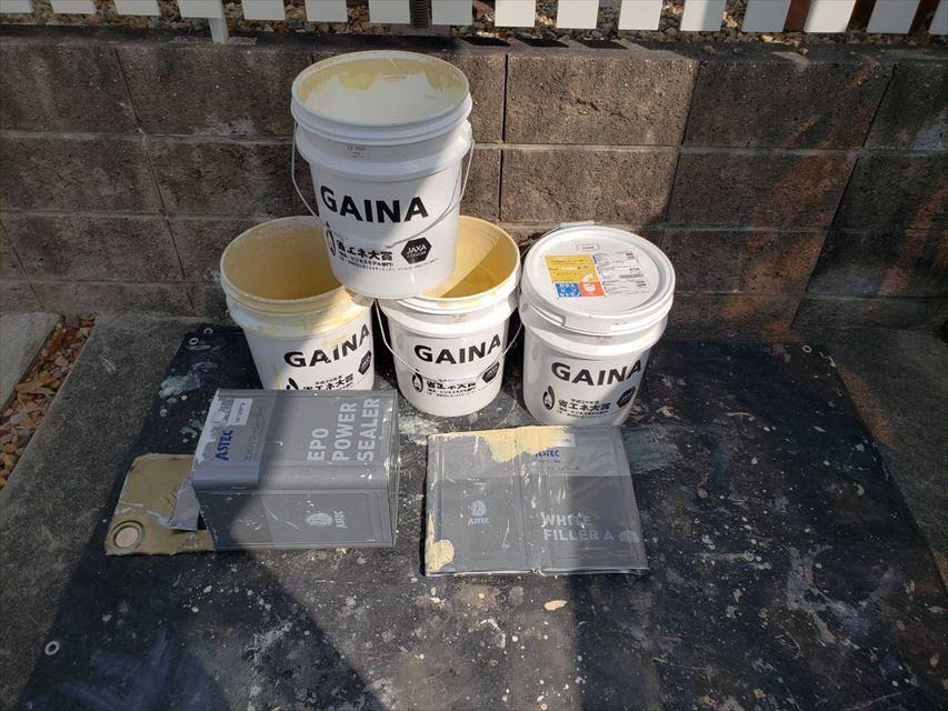 多治見市昭栄町外壁ガイナ塗り替え