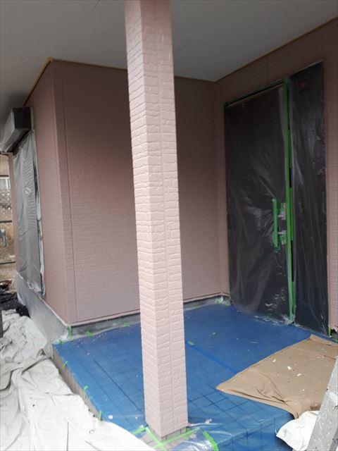 土岐市妻木町外壁断熱塗料