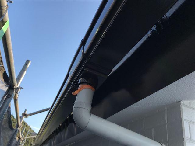 恵那市長島町で外壁塗装軒樋塗装