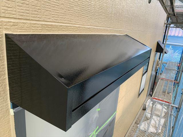 屋根外壁塗装 付帯部塗装完了