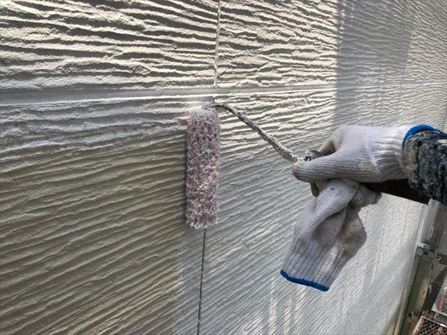 瑞浪市で外壁下塗り塗装