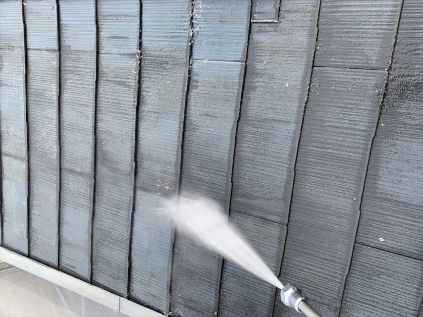 多治見市滝呂町屋根バイオ洗浄