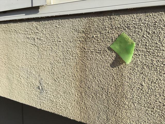 外壁の汚れ、変色