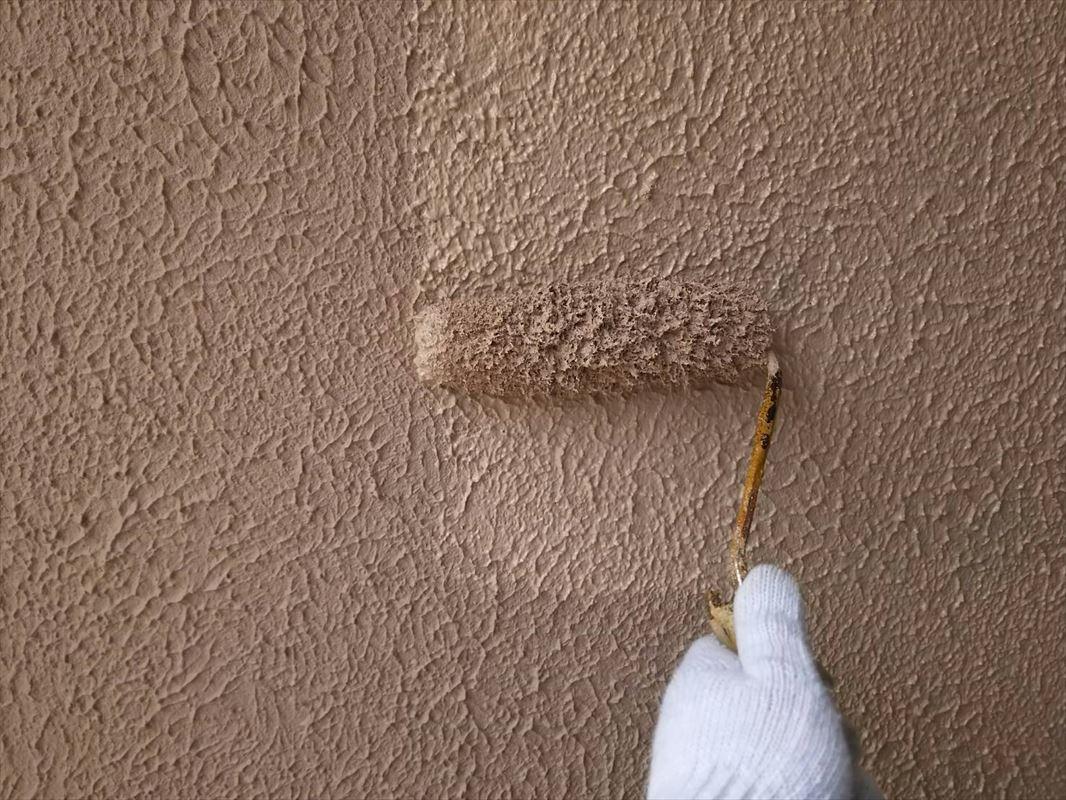 多治見 ブロック塀の塗装