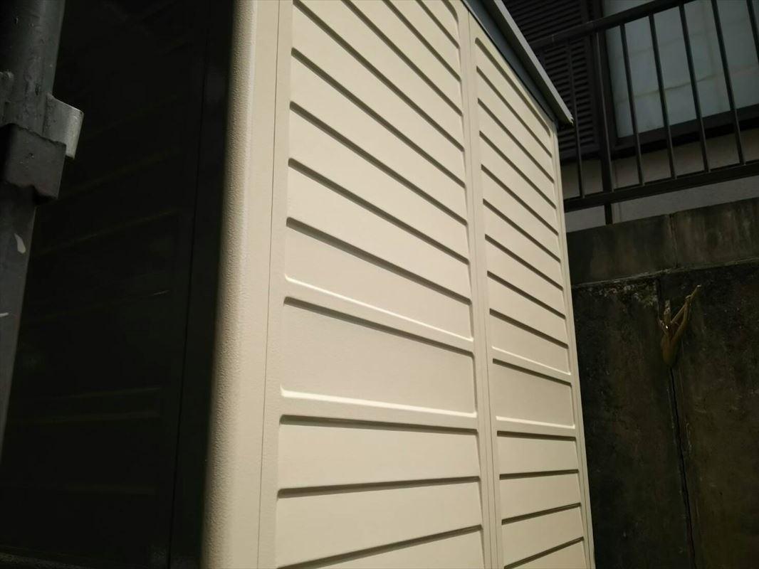 可児市 倉庫塗装 金属壁塗装