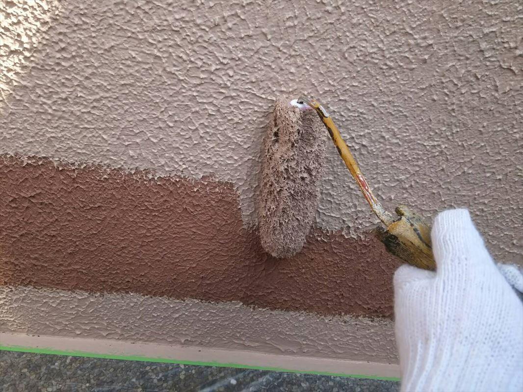 多治見 外壁と一緒に塀の塗装 塗り替え
