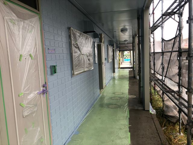 サイディング外壁の上塗り塗装