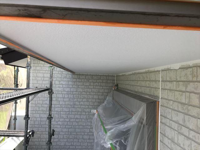 恵那市長島町で外壁塗装軒天塗装