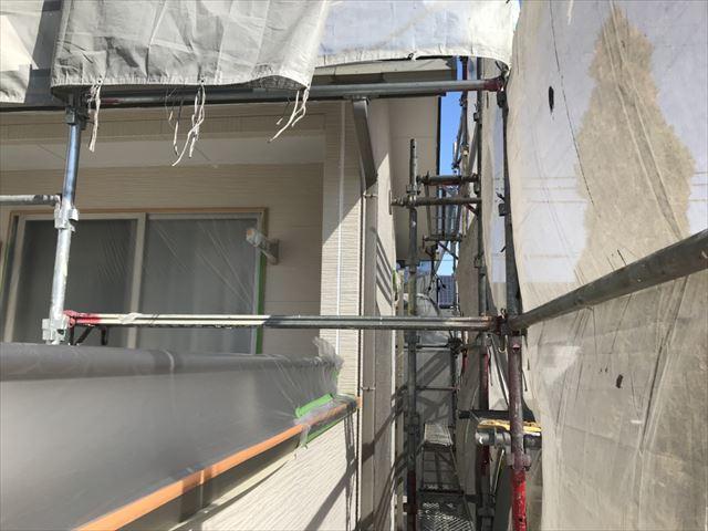 恵那市大井町外壁軒天塗装